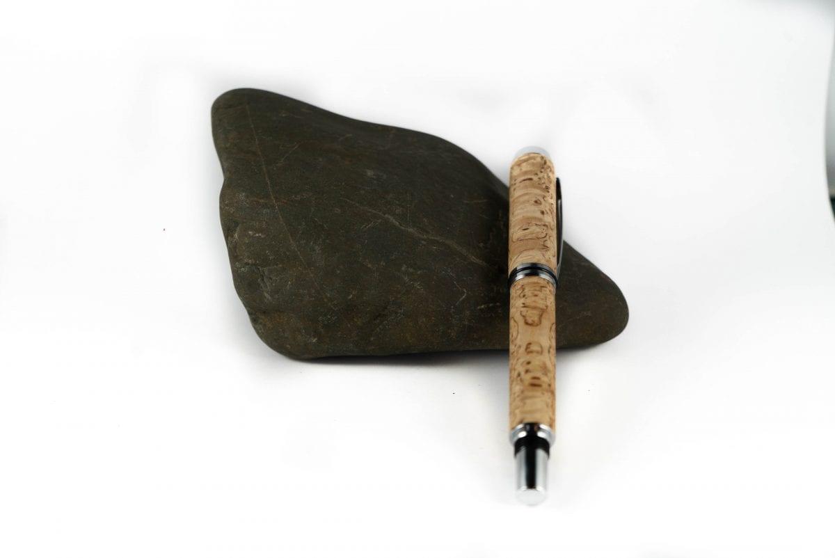 Handgemaakte Berken Vulpen - Luxe Houten Vulpen
