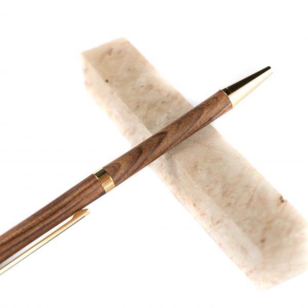 Unieke Houten Pen - Kingwood Luxe Balpen