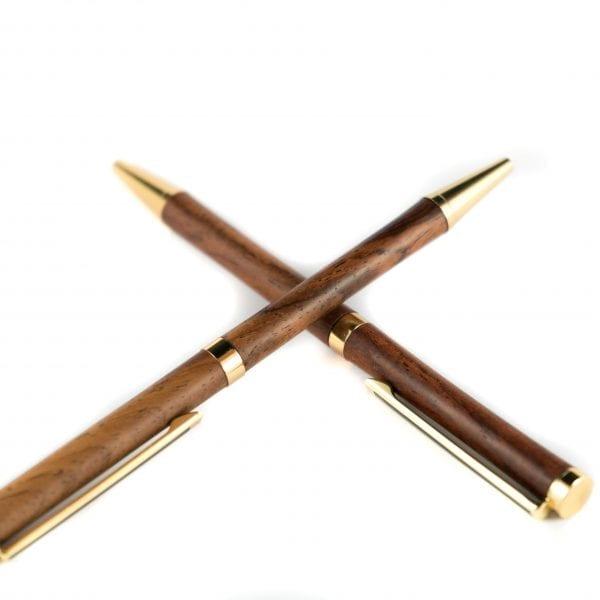 Handgemaakte Cocobolo Pen - Unieke Houten Pen